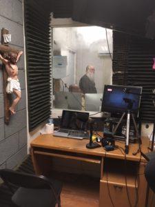 Studio looking into Control Room Week 2