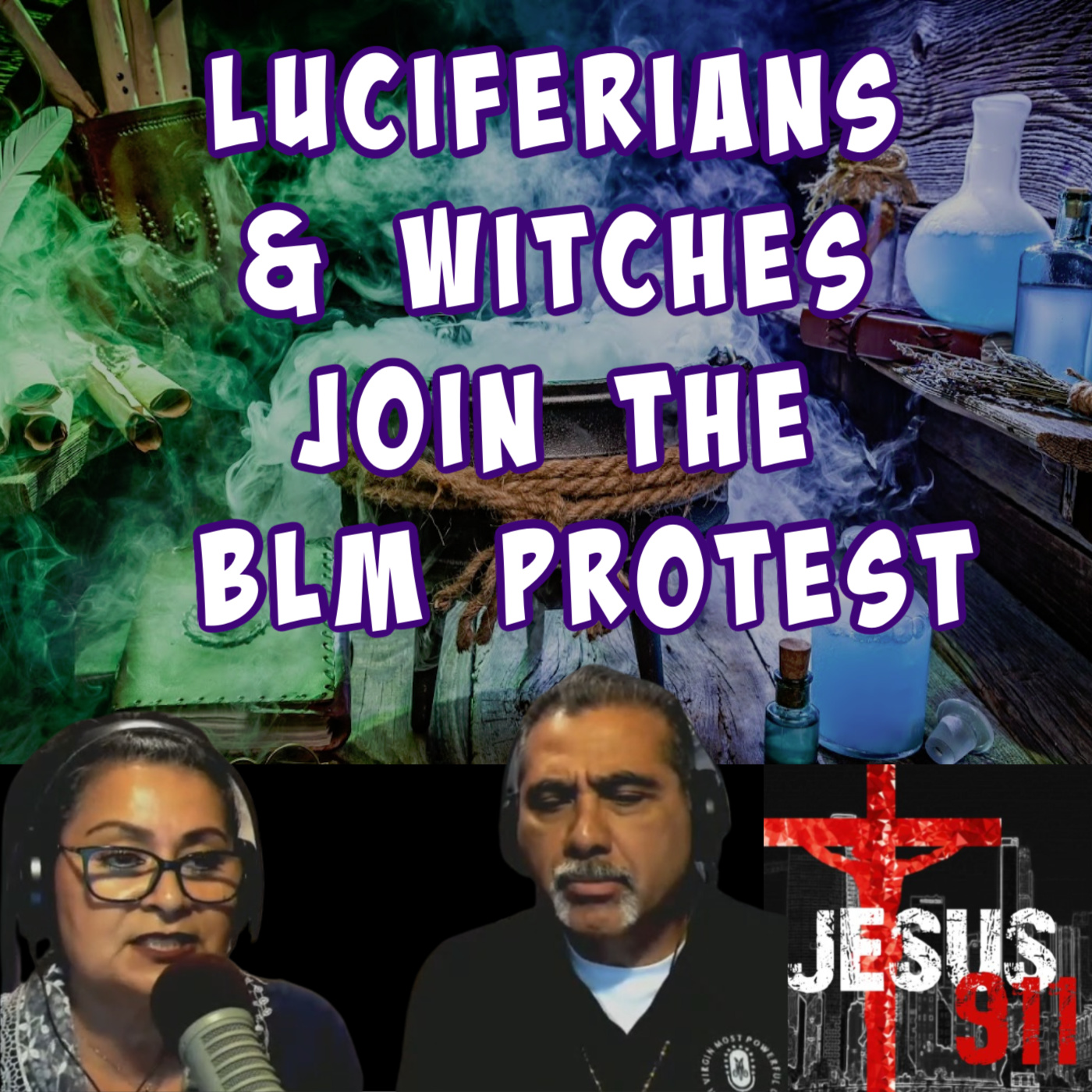 19 Jun 2020 – Luciferians & Witches join the BLM Protest